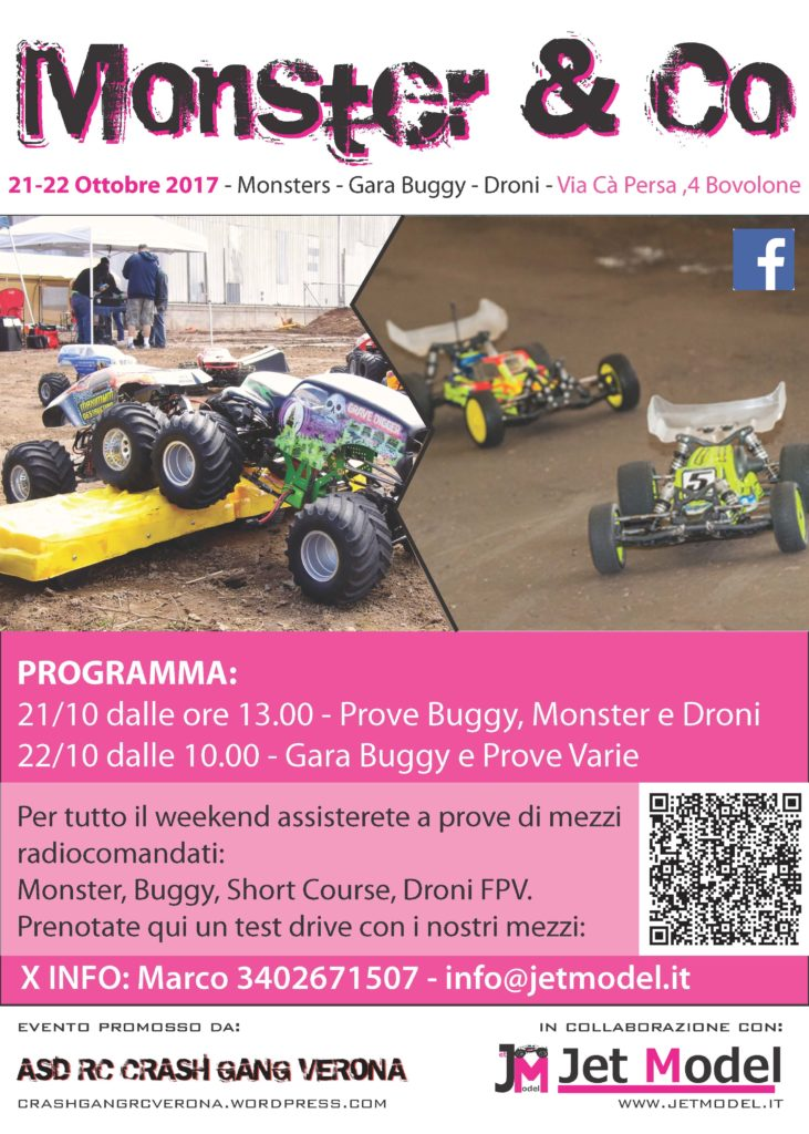 droni buggy monster modellismo