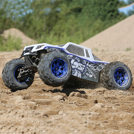 LOSI LST 3XL-E: 1/8th 4wd Monster Truck RTR