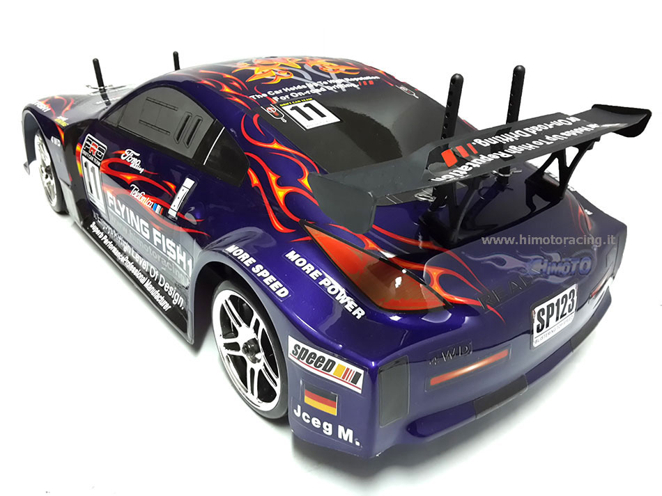 Drift Brushed 1/10 2.4Ghz 4WD RTR