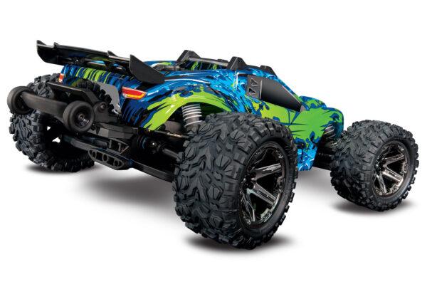 67076-4-Rustler-4×4-VXL-Green-rear