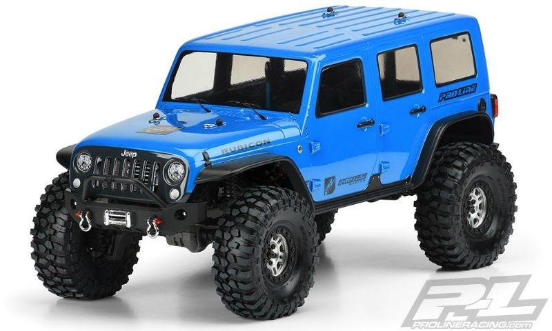 Pro-Line Jeep Wrangler Unlimited Rubicon carrozzeria (trasparente