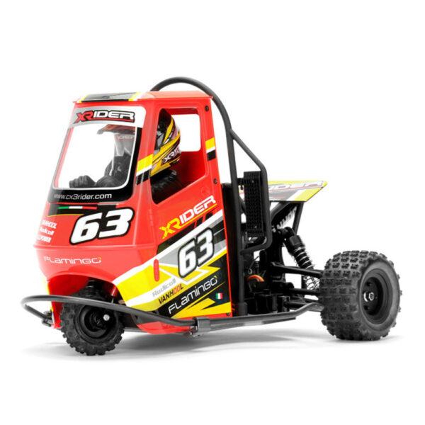 X/RACER FLAMINGO APE CAR