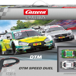 Pista Slot CARRERA 20025234 Dtm speed duel Audi rs5 vs mercedes amg c63