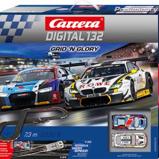 Pista Slot Digitale CARRERA 20030010 Grid 'n GloryArt