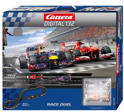 Pista Slot Digitale CARRERA 20030175 Race duel Alonso vs Vettel