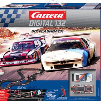 Pista Slot Digitale CARRERA 20030197 80' FLASHBACK Zakspeed vs Andretti