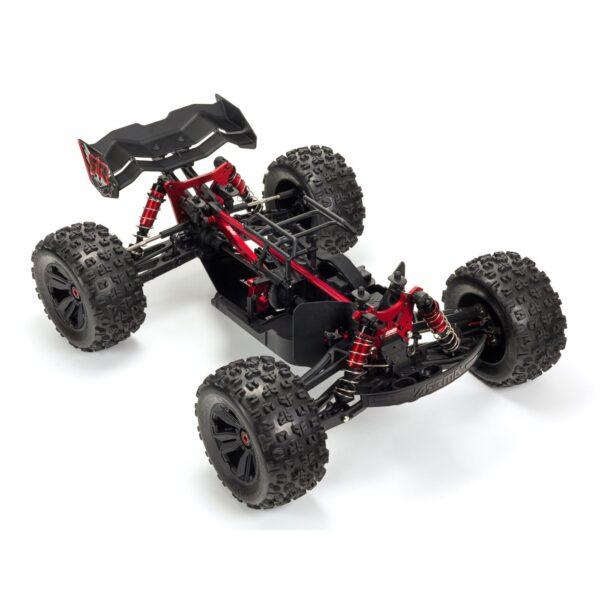 1/8 KRATON 4WD EXtreme Bash Roller Monster Truck, Black (ARA106053)