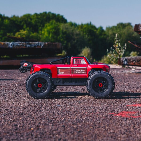 1/5 OUTCAST 8S BLX 4WD Brushless Stunt Truck RTR (ARA5810)