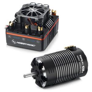 HOBBYWING COMBO (B) XR8 PLUS ESC & 4268SD-1900KV MOTOR - (HW38020405)