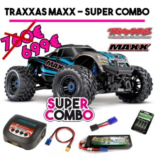 TRAXXAS MAXX COMBO BLU