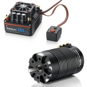 Hobbywing Xerun XR8 Plus Combo with 4274-2250kV for 1:8 Truck, Buggy