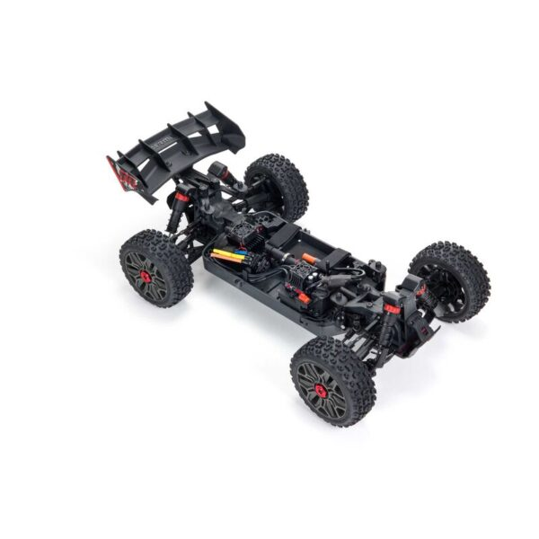 1/8 TYPHON 4X4 V3 3S BLX Brushless Buggy RTR, Red