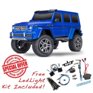TRX4 MERCEDES G500 SCALER TRAIL CRAWLER 4X4